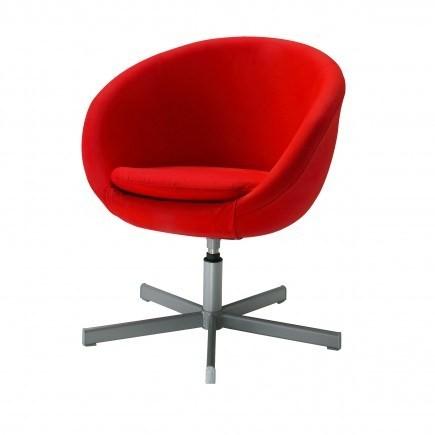 Ghế IKEA SKRUVSTA màu đỏ (order)