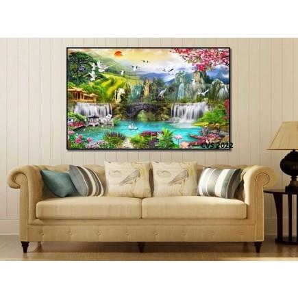 Tranh  Canvas  treo tường phong cảnh CVS2022