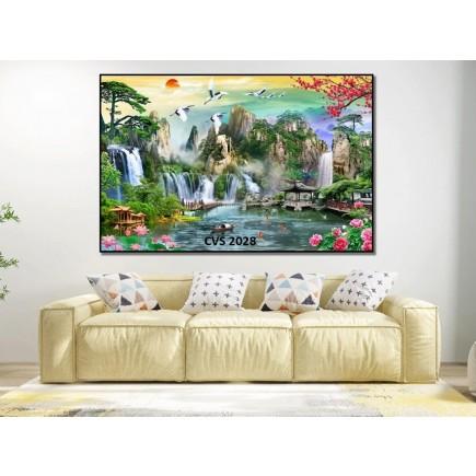 Tranh  Canvas  treo tường phong cảnh CVS2028
