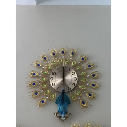 Đồng hồ treo tường chim công DHS40B