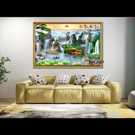 Tranh  Canvas  treo tường phong cảnh CVS2107