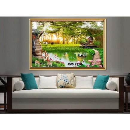 Tranh  Canvas  treo tường phong cảnh CVS2110