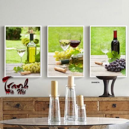 Tranh nhà bếp, tranh phòng ăn, tranh treo tường DH4487A
