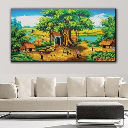 Tranh  Canvas  treo tường phong cảnh CVS3013