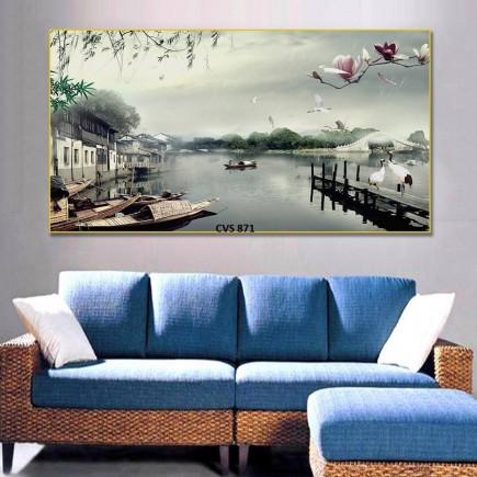 Tranh  Canvas  treo tường phong cảnh CVS871