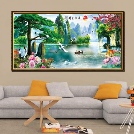 Tranh  Canvas  treo tường phong cảnh CVS2002