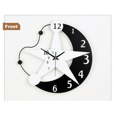 Đồng hồ trang trí hình ngôi sao T6036