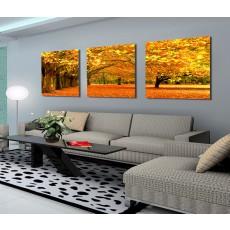 Tranh ghép bộ 3 bức nghệ thuật DH1785A (kích thước 180x40cm)