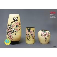 Bộ lọ hoa gốm trang trí G03