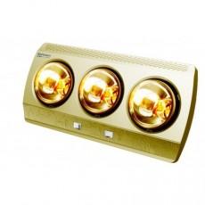 Đèn sưởi nhà tắm 3 bóng vàng Kottmann