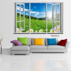 Tranh treo tường nghệ thuật cửa sổ DH2491A