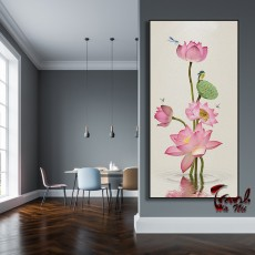 Tranh Canvas, tranh treo tường  CVS10B