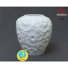 Bộ lọ hoa gốm trang trí G119