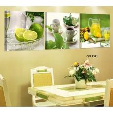 Tranh Canvas, tranh treo tường nhà bếp CVS1311