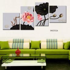 Tranh treo tường 4 bức nghệ thuật DH2552A