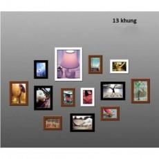 Bộ 13 khung ảnh trang trí