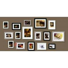 Bộ 16 khung ảnh trang trí