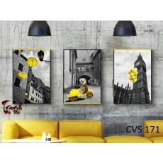 Tranh Canvas, tranh treo tường nghệ thuật CVS171