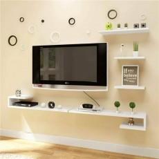 Kệ gỗ trang trí phòng khách KG159