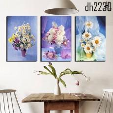 Tranh bộ nghệ thuật bình hoa DH2230A