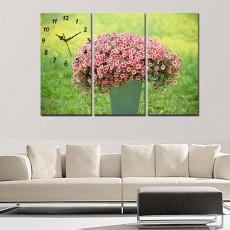 Tranh bộ nghệ thuật bình hoa DH2253A