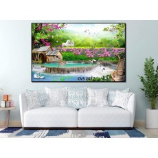 Tranh  Canvas  treo tường phong cảnh CVS2027