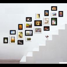 Bộ 20 khung ảnh trang trí cầu thang