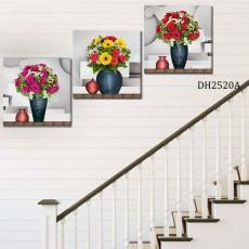 Tranh treo tường 3 bức nghệ thuật DH2520A