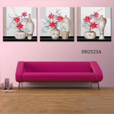 Tranh treo tường 3 bức nghệ thuật DH2523A (120x40cm)