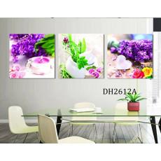 Tranh treo tường 3 bức nghệ thuật  DH2612A
