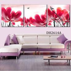Tranh treo tường 3 bức nghệ thuật DH2614A