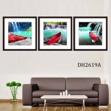Tranh treo tường 3 bức nghệ thuật DH2619A