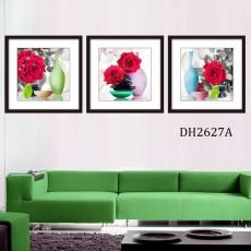 Tranh treo tường 3 bức nghệ thuật DH2627A
