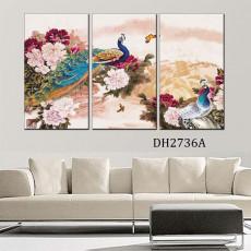 Tranh treo tường nghệ thuật Chim Công DH2736A