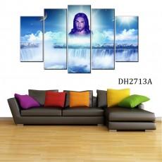 Tranh nghệ thuật 5 bức chúa Giêsu DH2713A