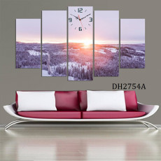 Tranh ghép bộ phong cảnh 5 bức DH2754A