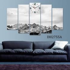 Tranh ghép bộ nghệ thuât 5 bức phong cảnh DH2755A