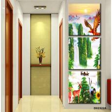 Tranh treo tường 3 bức nghệ thuật DH2322A
