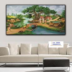 Tranh  Canvas  treo tường phong cảnh CVS3004