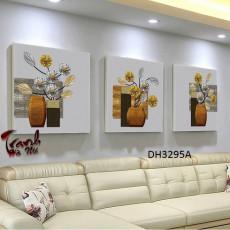 Tranh treo tường 3 bức  nghệ thuật DH3295A