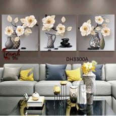 Tranh treo tường 3 bức  nghệ thuật DH3300A