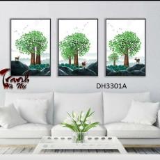 Tranh treo tường nghệ thuật Hươu DH3301A