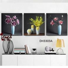 Tranh treo tường 3 bức  nghệ thuật DH3303A