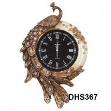 Đồng hồ trang trí điêu khắc phù điêu  DHS367