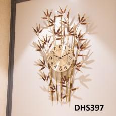 Đồng hồ trang trí trúc báo bình an  DHS397
