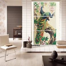 Tranh treo tường nghệ thuật Chim Công DH4046A