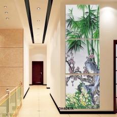 Tranh đồng hồ, tranh treo tường 3 bức nghệ thuật DH4047A