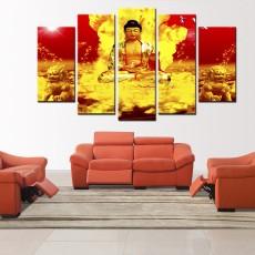 Tranh ghép bộ nghệ thuât đức Phật DH2427A