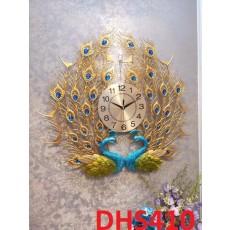 Đồng hồ trang trí chim công phú quí DHS410