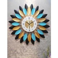 Đồng hồ trang trí lá mặt trời DHS416